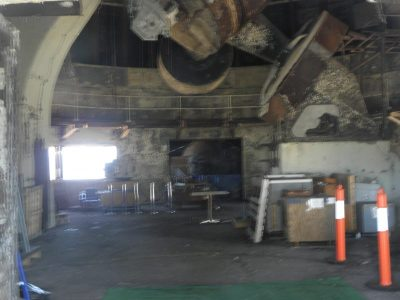 Mt Stromlo Observatory after 2003 fires