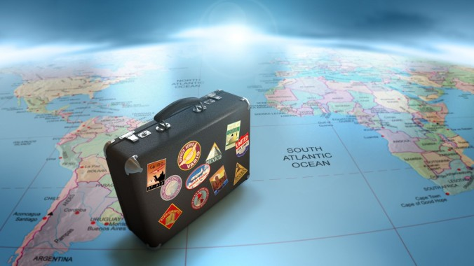 suitcase-on-a-globe-getting-ready-to-travel