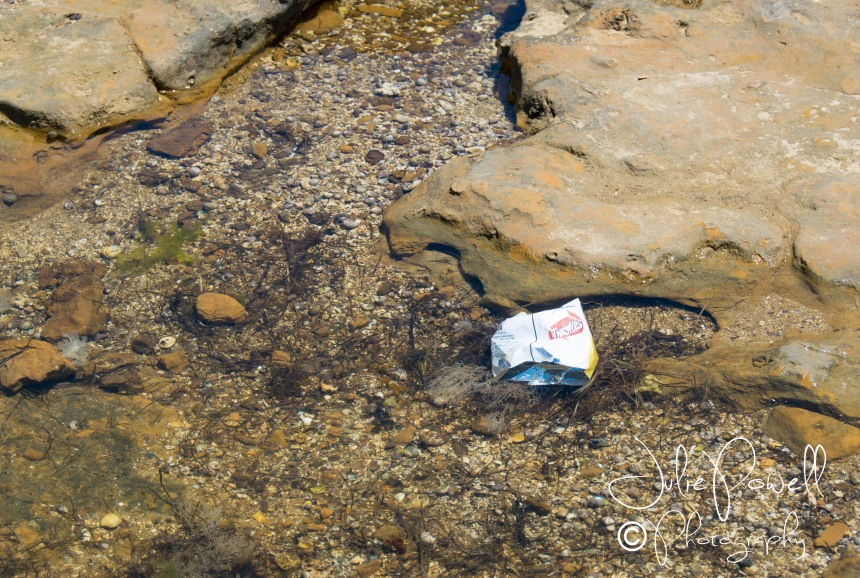 Seriously People, take your bloody rubbish home!
