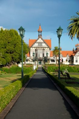 Rotorua Museum and Gardens