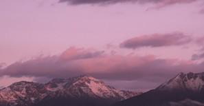 Sunrise over Dutton Ranges