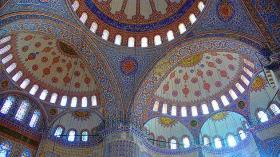 Ceiling, Blue Temple -Turkey