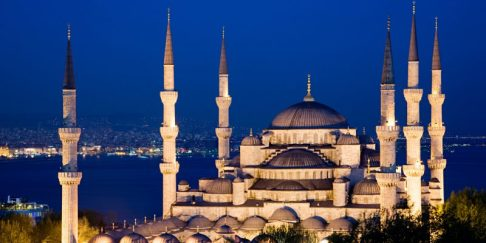 Blue Temple - Turkey