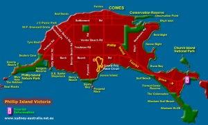 Phillip-Island-Tourist-Map