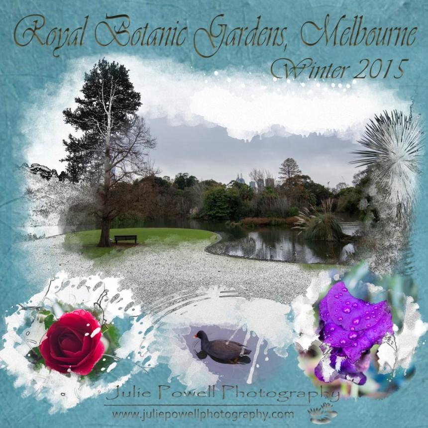 Botanic Garden Scrapbook