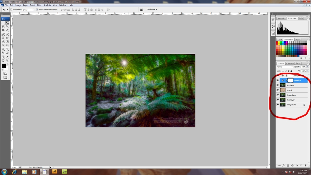 How to Create the Orton Effect (2/6)