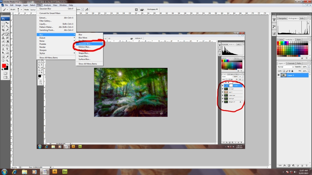 How to Create the Orton Effect (3/6)