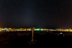 Shooting Stars over Ayers Rock Resort