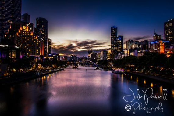 Yarra from Princes St Bridge