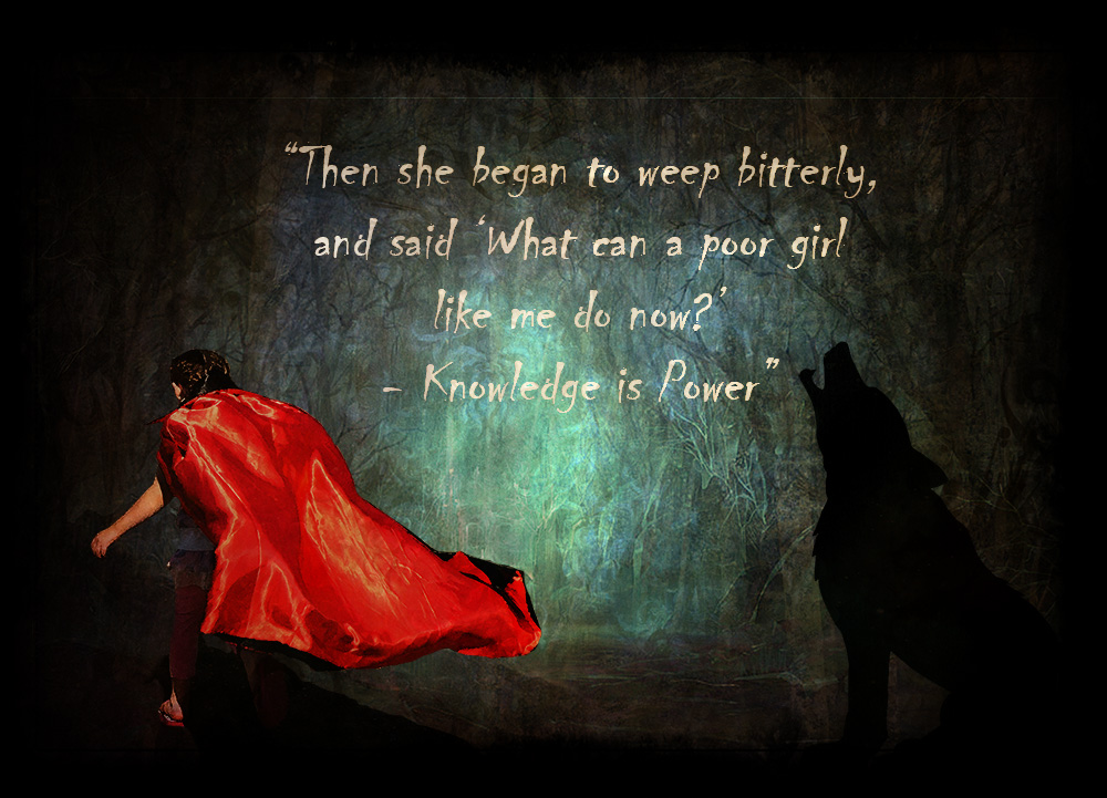Little Red Riding Hood – The Brothers Grimm (Photoshop Artistry ...
