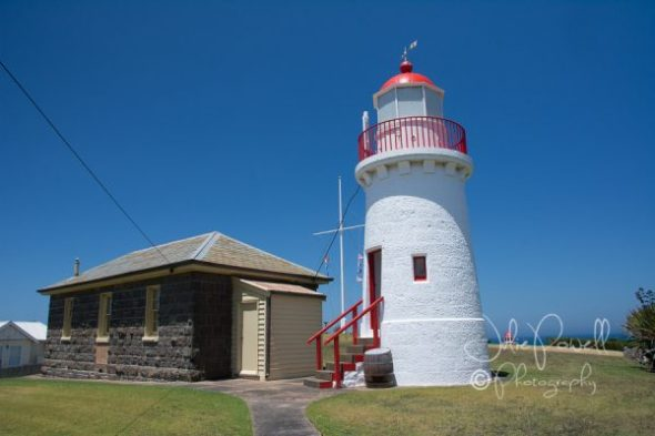 Upper Lighthouse, Cottage and Flagstaff