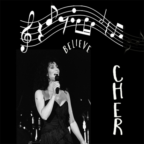 #photorehabcovermakeover Week 4 Believe - #Cher
