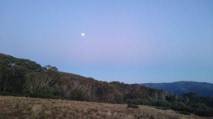 Craig's Hut Moonset