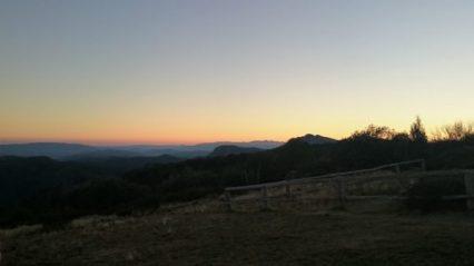 Craig's Hut Sunset