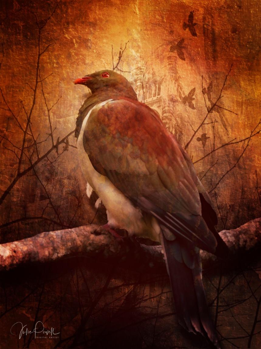 JuliePowell_Birdinthebush