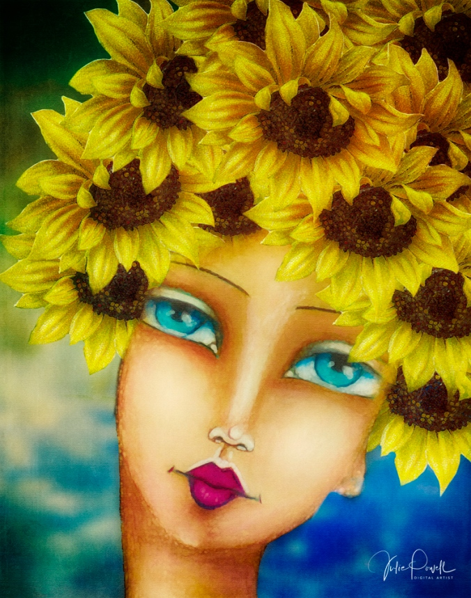JuliePowell_Lady Watercolour