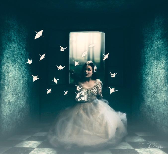 JuliePowell_ White Cranes