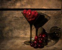 Aperitif of berries
