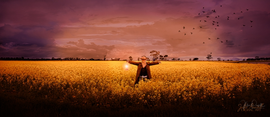 JuliePowell_Canola Scarecrow