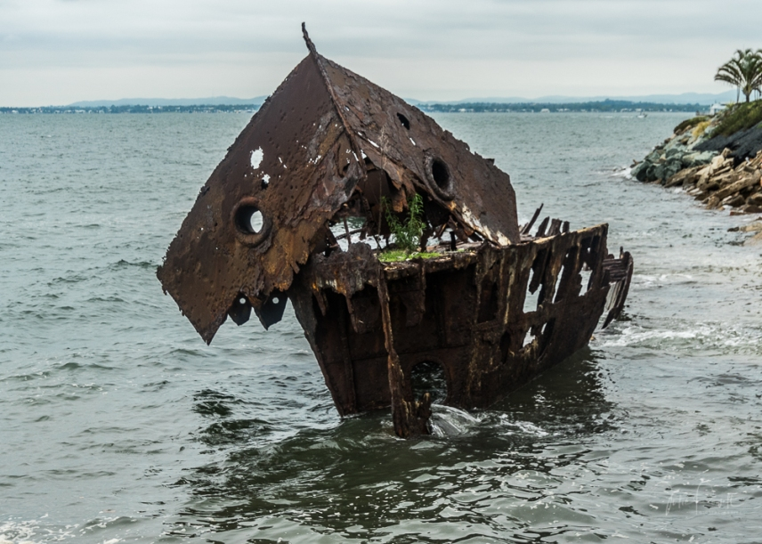 Wrecked Ship