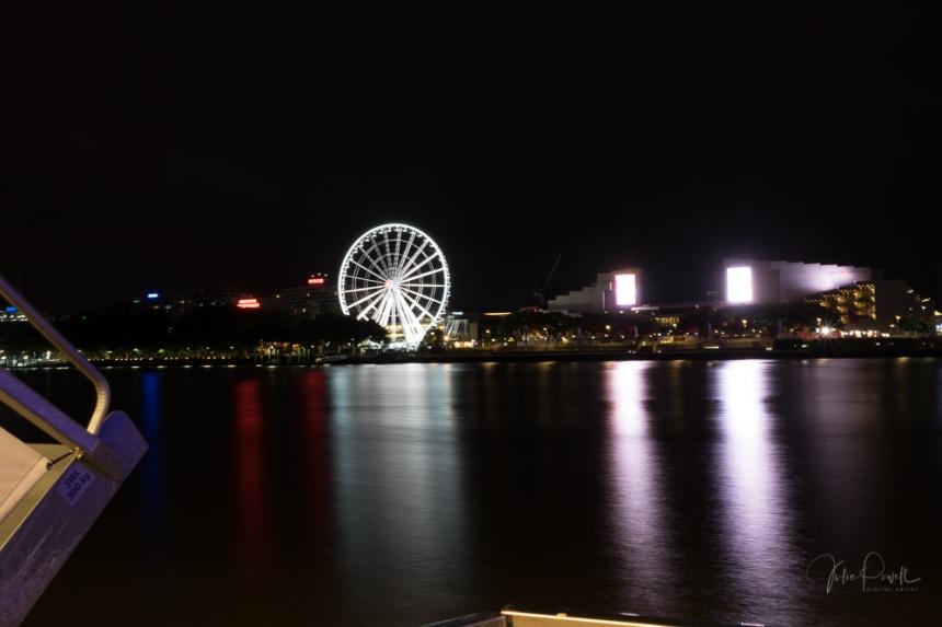 JuliePowell_Wheel at Night
