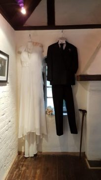 Bride and Groom costumes