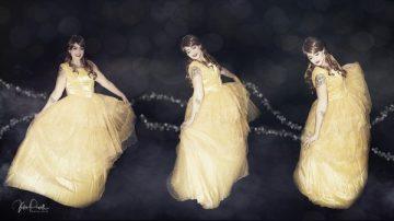 Dancing Belle Triptych