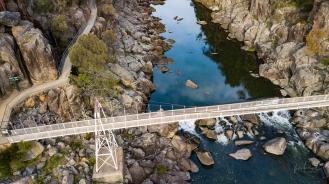 Cataract Gorge, Launceston by Drone