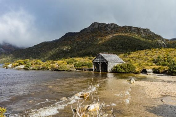 Dove Lake - The Boat Shed