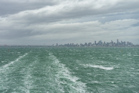 Melbourne City Skyline