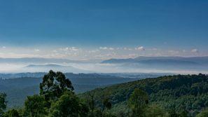 Overlooking the Dandenong Valley