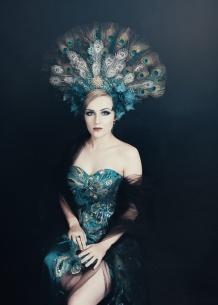 JuliePowell_Peacock Dress-1