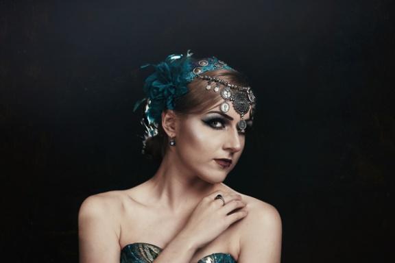 JuliePowell_Peacock Dress-16