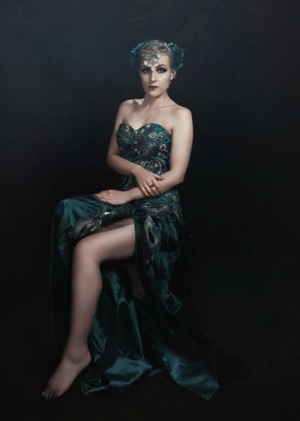 JuliePowell_Peacock Dress-17