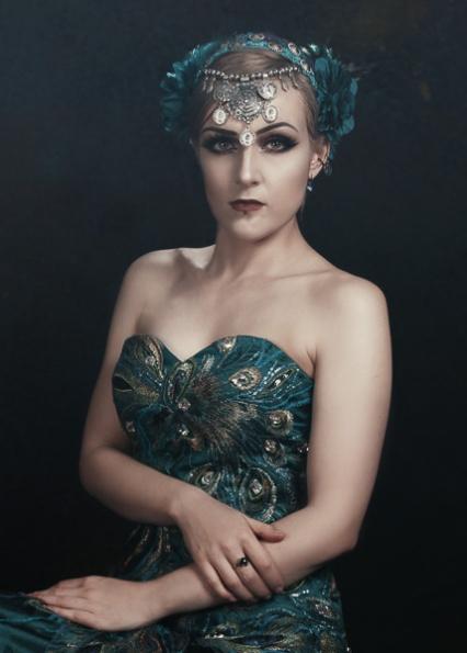 JuliePowell_Peacock Dress-18