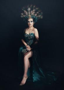 JuliePowell_Peacock Dress-2