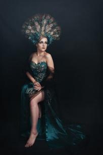JuliePowell_Peacock Dress-3
