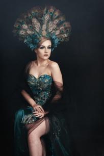 JuliePowell_Peacock Dress-4