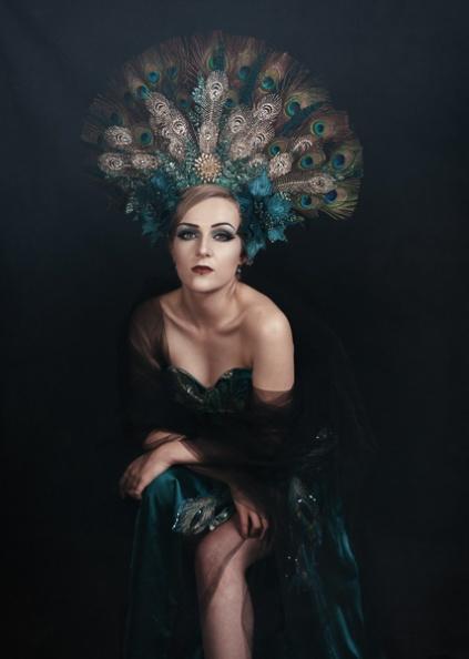 JuliePowell_Peacock Dress-5
