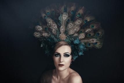 JuliePowell_Peacock Dress-6