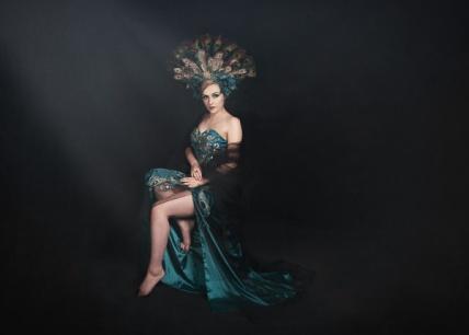 JuliePowell_Peacock Dress-7