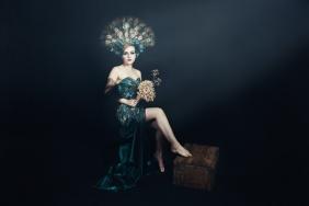 JuliePowell_Peacock Dress-9
